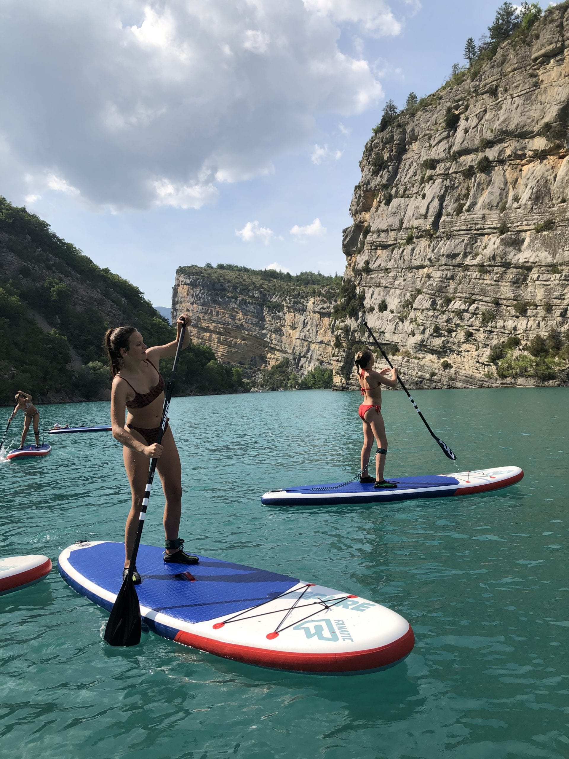 Discovery of the Paddle in the Verdon