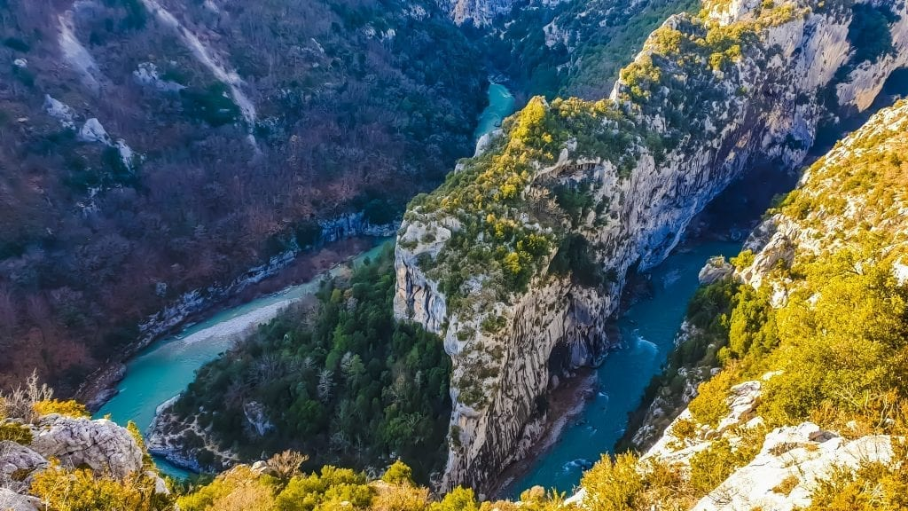 Le grand canyon du Verdon - région PACA